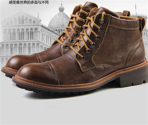 cool mens leather boots mens popular boots yu boots