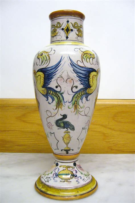 antique italian vase 1890 s omero home