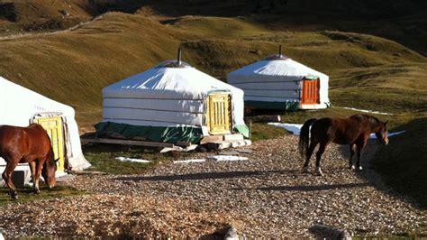 pernottamento in yurta