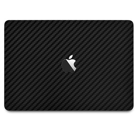 9skin Premium Skin Macbook Pro 15 Touch Bar 2017 3m Black Leather macbook pro 15 quot with touch bar carbon fiber series covers