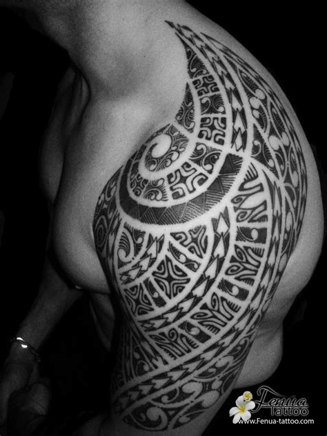tahitian tattoo tattoo polyn 233 sien tribal sur le mollet tatouage polyn 233 sien fashion designs