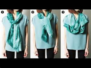 different styles of wearing a stole scarf pashima and