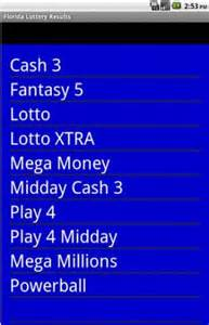 Download florida lottery results for android appszoom