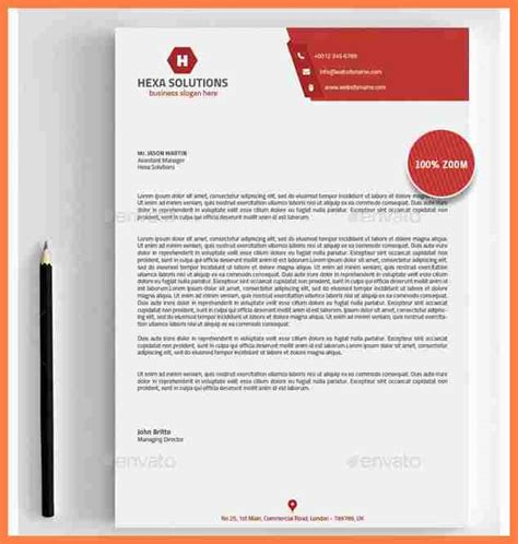 4 creating letterhead template in word company letterhead