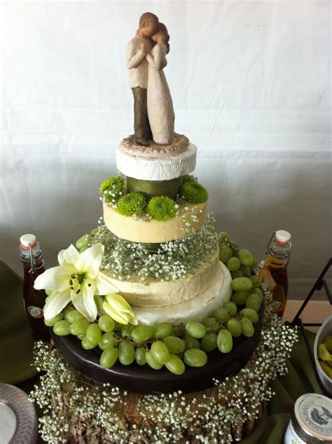 Wedding Cakes Made Of Cheese by Wedding Cake Alternatives Cheese Wheel Cakes Galore