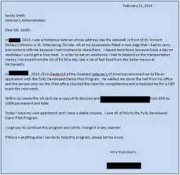 Va Disability Appeal Letter Sle by Innovative Pilot Program Helping Veterans Get Benefits Faster Vantage Point