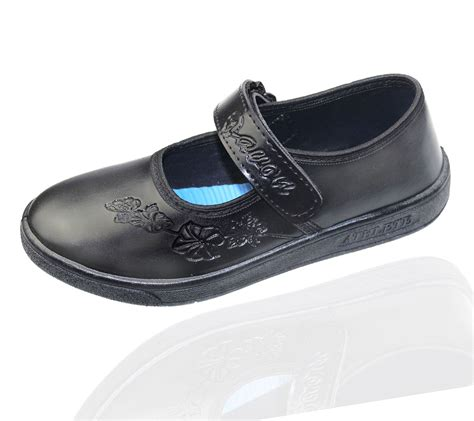 kollache school shoes casual formal black flats