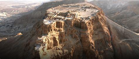 masada  desert fortress  israel traveler corner