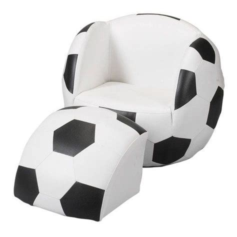 soccer ball chair with ottoman childs upholstered soccer ball chair with ottoman soccer
