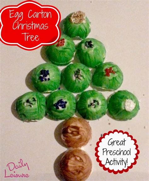 4h christmas tree from old egg carton 18 best images about preschool crafts on mondays butterfly crafts and