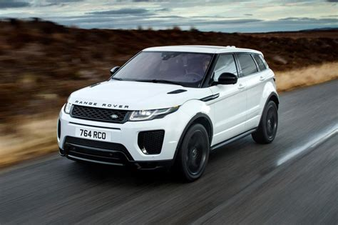 range rover white 2018 land rover introduces new engines for 2018 evoque and