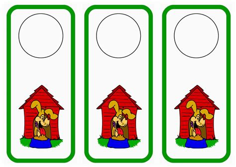 printable animal door hangers door hangers page 4 birthday printable