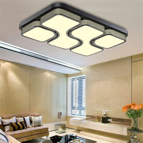 Kitchen Light Panels Modern Led Panel Ceiling Light 36w 48w Bathroom Kitchen Living Room Lighting Ebay