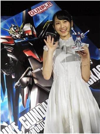 film seri gundam terbaru matsui rena ske48 hadiri konferensi pers seri gundam