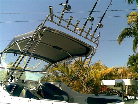 boat canopy rocket launcher new rocket launchers by greens marine stainless photo