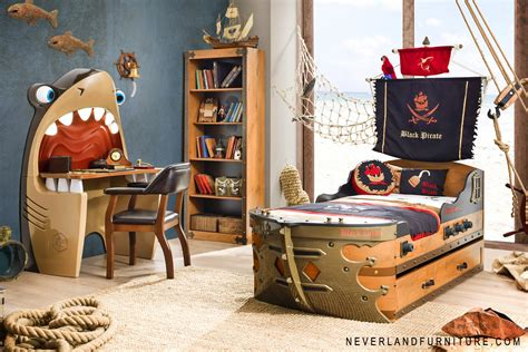 pirate bedroom set office chair on sale in canada black pirate gunboat bed