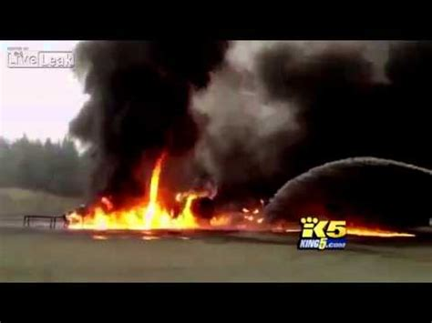firefighters mistakenly pump jet fuel on fire instead of