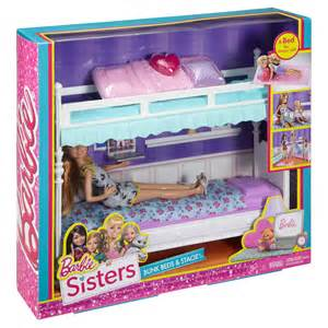 Sleigh Bed Bedding Charming Barbie Sisters Bunk Bed Barbie Sisters