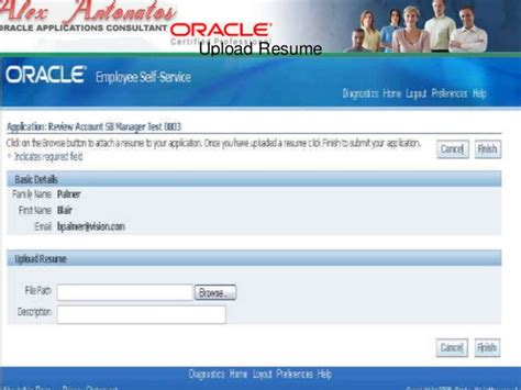 Oracle Hrms Consultant Resume by Hrms Consultant Resume