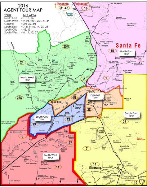 santa fe map santa fe mls zoning maps real estate properties santa fe kachina mountain realty