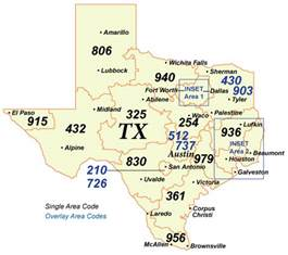 Area Code For Tx Distance Local Access Numbers In