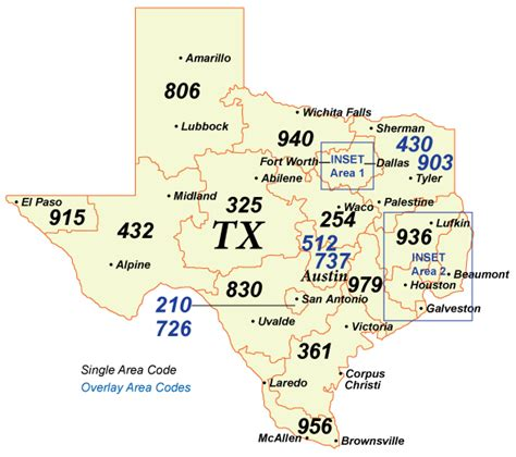 map of texas area codes nanpa number resources npa area codes