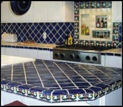 Mexican Tile Countertops by 301 Moved Permanently