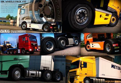 Wheel Pack 50k wheels pack 1 19 x v1 0 for ets 2 187 ets 2 ats fs