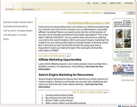web design home based business home based business lead generation seo for home based