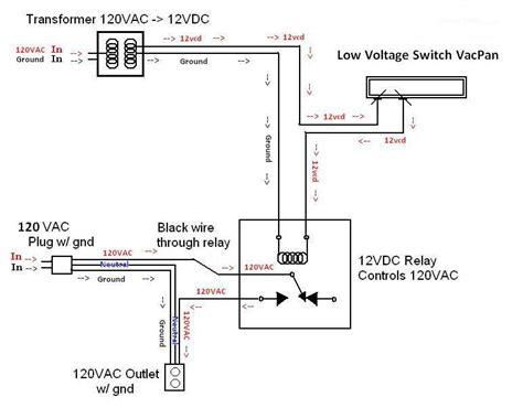 transformer relay low voltage electrical diy