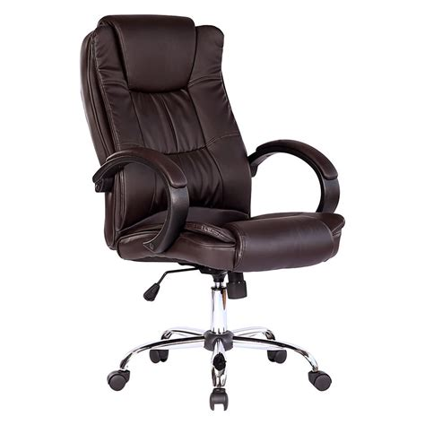 leather computer desk santana high back executive office chair leather computer