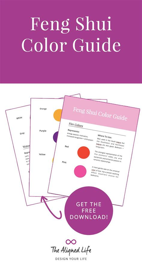 feng shui color how to work with feng shui colors feng shui