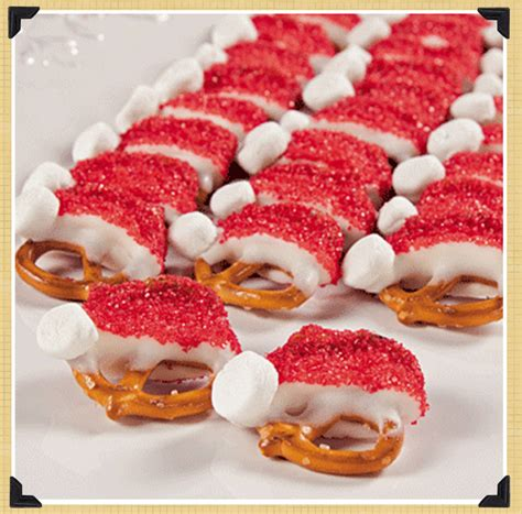 cute christmas desserts spotted hearted pinterest holiday recipes the