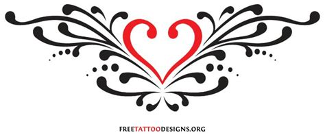 back heart tattoo flash heart pinterest