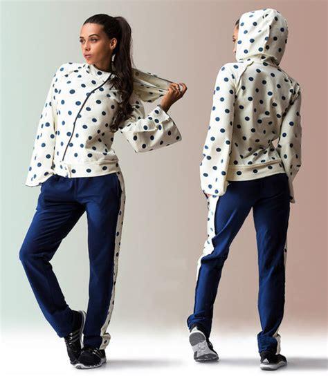 Sauna Suit Reebok Polkadot jumpsuit zefinka polka dots zip up comfy combo hooded sweatshirt sweatpants sweatsuit