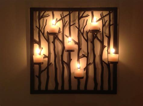 Tea Light Sconces Candle Wall D 233 Cor To Create A Romantic And Warm Atmosphere