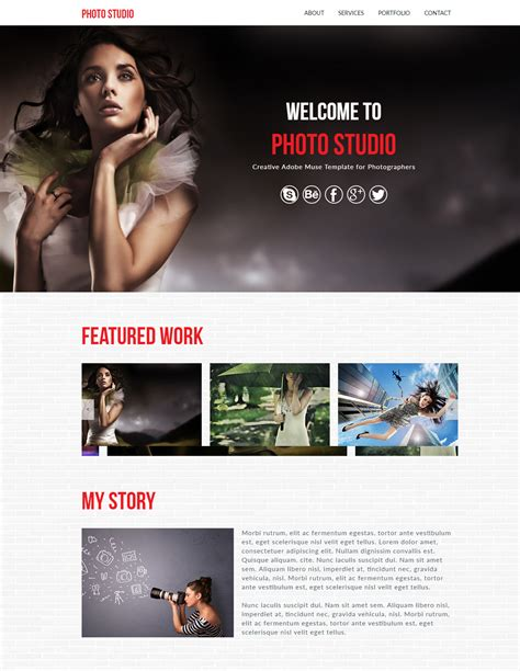 115 free muse templates create website without coding