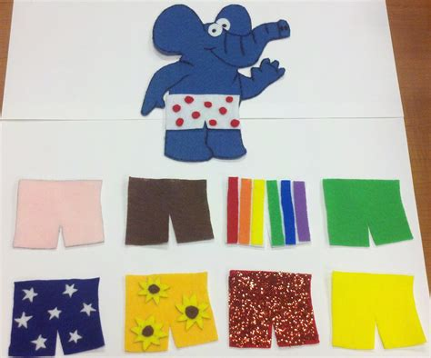 felt board stories flannel friday if elephants wore narrating tales