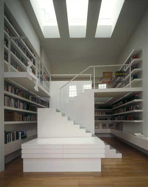 private library london contemporary interior design