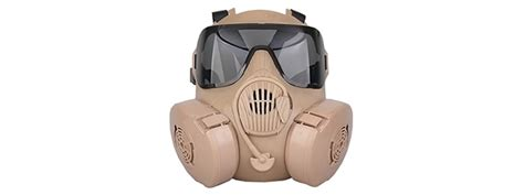 Promo Half Mask Skull Style Bagus ac 337t dummy cbrn style em50 mask cb incl clear smoke