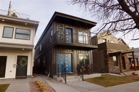 Tiny Floor Plans by Shipping Container Homes In Denver