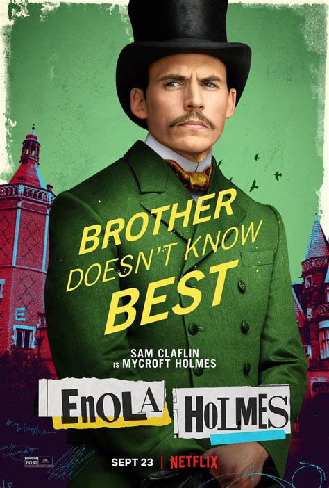 enola holmes posters released  netflix