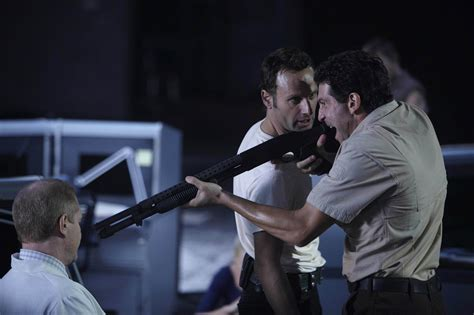 noah emmerich father still of noah emmerich andrew lincoln and jon bernthal in