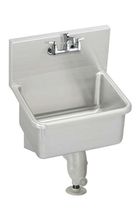 What Is A Service Sink by Elkay Essb2520c Commercial Wash Sinks Wall Service Sink
