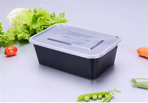 Bekas Plastik Microwave china black dispo color plastic disposable food packaging container photos pictures made in