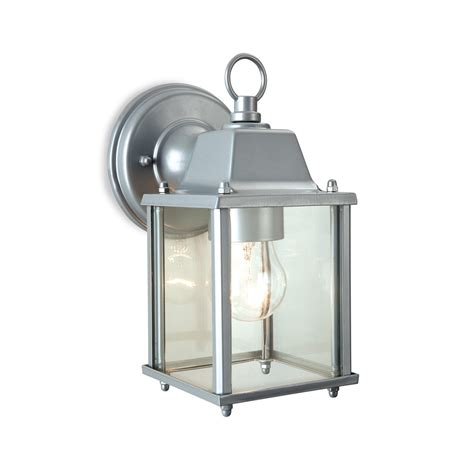 Outdoor Lantern Lights Uk Firstlight 8666si Coach 1 Light Silver Outdoor Wall Lantern