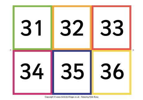 printable number flashcards 1 50 image gallery number flashcards 1 50