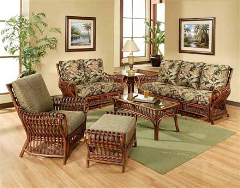 Rattan And Wicker Living Room Furniture Sets Living Room Wicker Living Room Chair