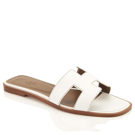 Sandal Hermes Wedges 23 herm 232 s oran orans flat 39 or 8 5 white sandals from chicjoy on tradesy