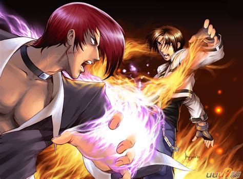 imagenes animadas king of fighters 八神庵图片 八神庵 八神庵壁纸 淘宝助理